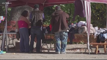 Beard Brook Park serving as temporary solution to homeless problem in Modesto