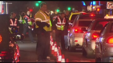 CHP arrests 314 drivers for DUI over Thanksgiving