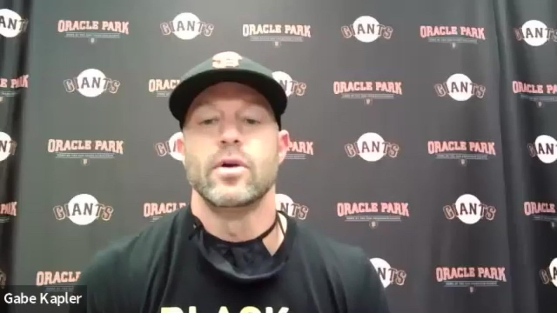 SF Giants' manager Gabe Kapler on decision with Dodgers to postpone Wednesday's game in protest