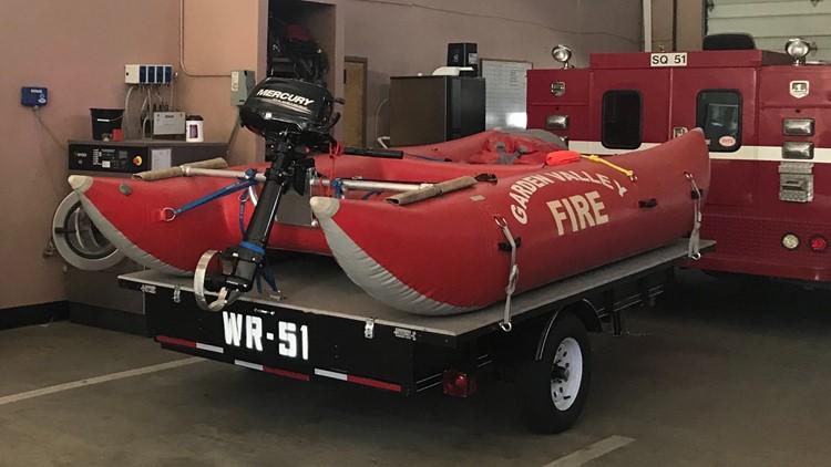 river rescue boat garden valley fire 02132020
