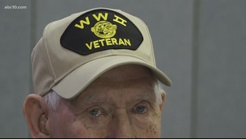 Cameron Park community brings veteran 'Honor Flight' home for those unable to attend in Washington, D.C.