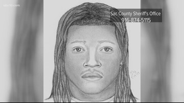 Sketch of South Sacramento shooting suspect released by sheriff's office