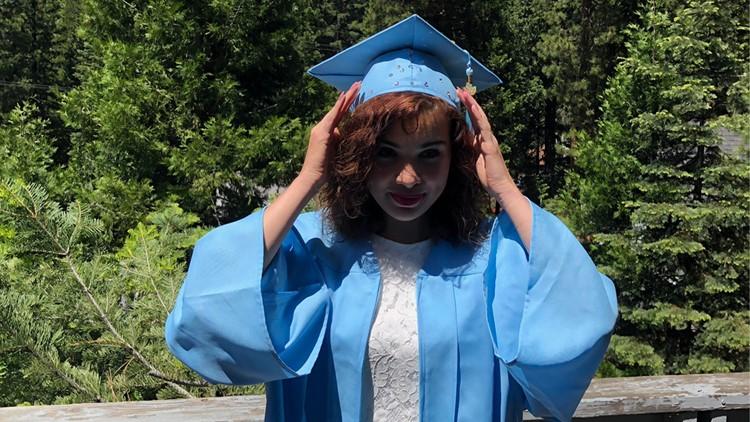 Angela House Graduation