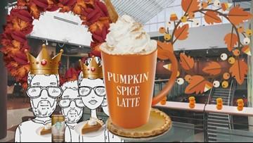Connect the dots: 'Tis the season for Pumpkin Spice Latte