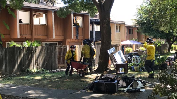 15 people displaced by fire at Davis apartment complex