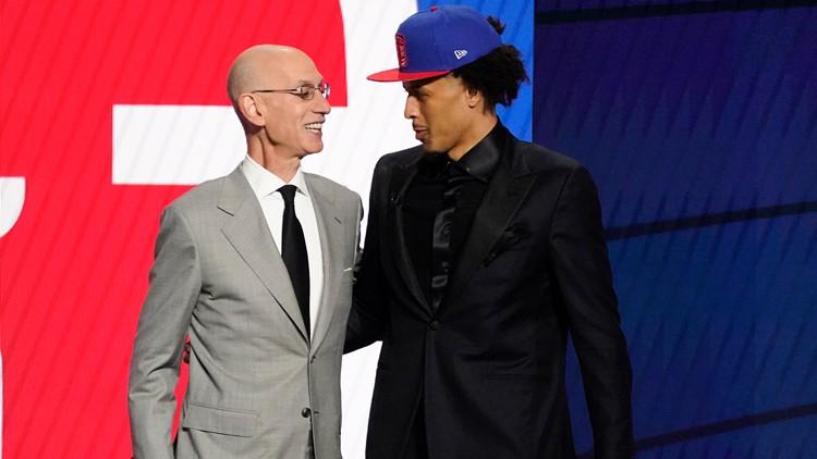 NBA Draft 2021 live draft tracker, updates: Cunningham, Green, Mobley are top three picks