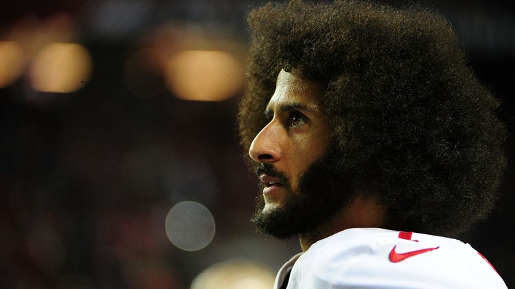 Kaepernick began a wave of protests by NFL players two seasons ago, kneeling during the national anthem to protest police brutality and racial inequality.