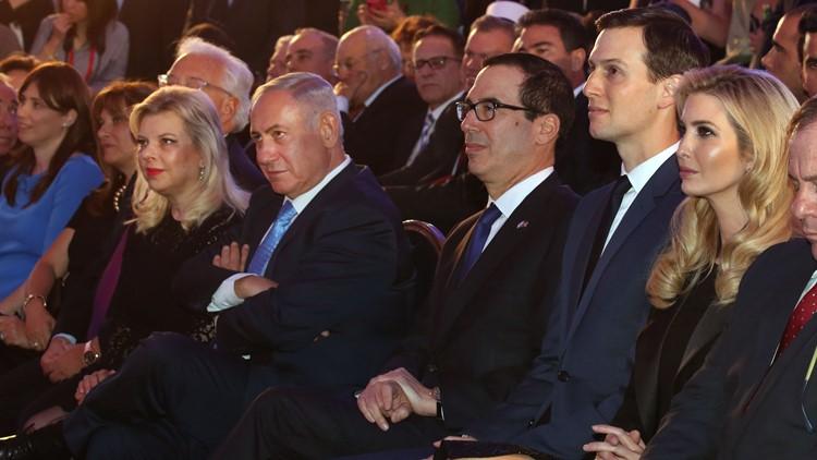 Ivanka Trump Jared Mnuchin Netanyahu Israel