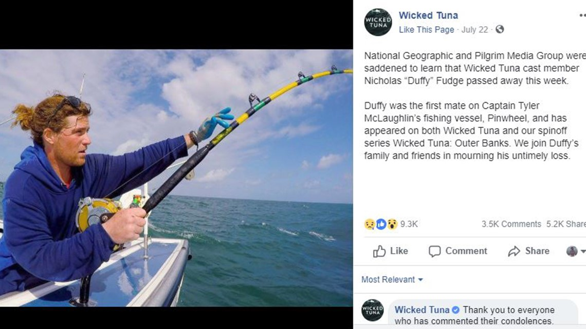 Gas Prices In California >> Nicholas 'Duffy' Fudge of 'Wicked Tuna' TV show dies at 28 ...