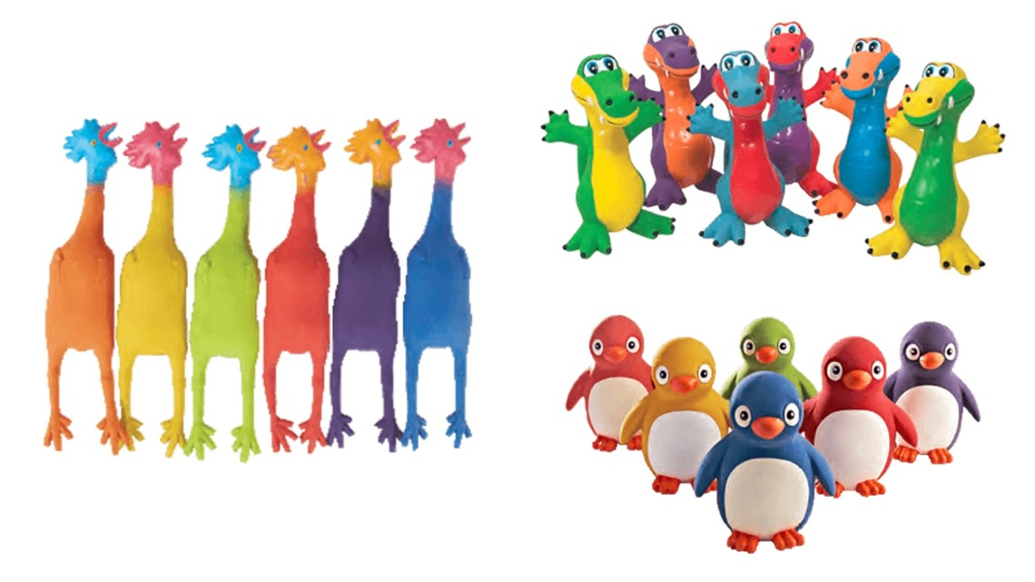 Rubber children's toys recalled for excessive lead paint ...