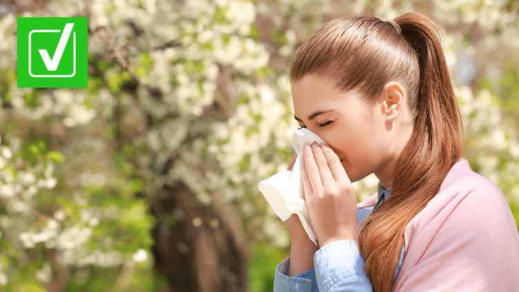 Yes, people taking seasonal allergy medicine can get a COVID-19 vaccine