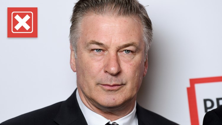 Manipulated quote attributed to Alec Baldwin before fatal prop gun shooting is fake