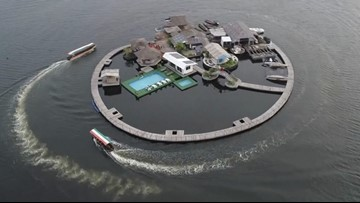 One Man's Trash is Another Man's Island, African City Boasts Recycled Land in Lagoon