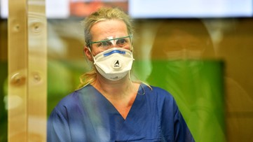 Tennessee tells nurses to try diapers if they run out of surgical masks