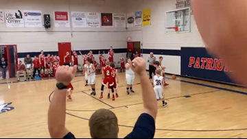 'I swished it like Michael Jordan, didn't I, mom?' | Tennessee student with autism has his basketball dream come true