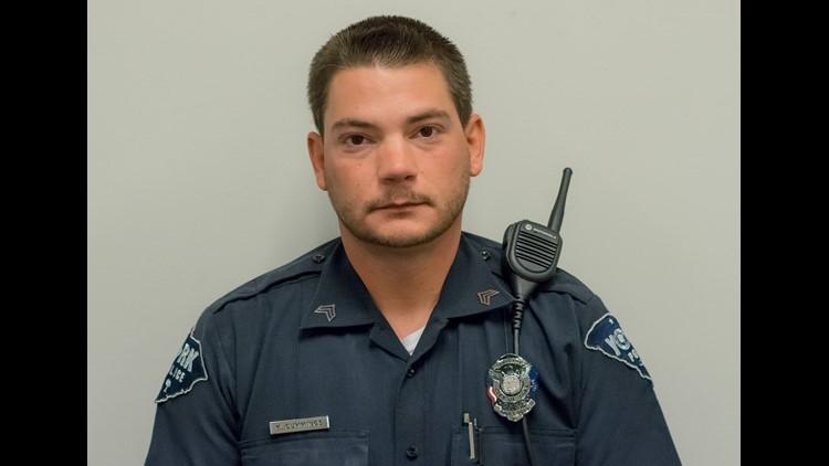 Officer  Kyle Cummings / Photo: YCSO