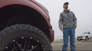 'I thought I was going to jail': Man's truck involved in hit-and-run after being dropped off at dealership