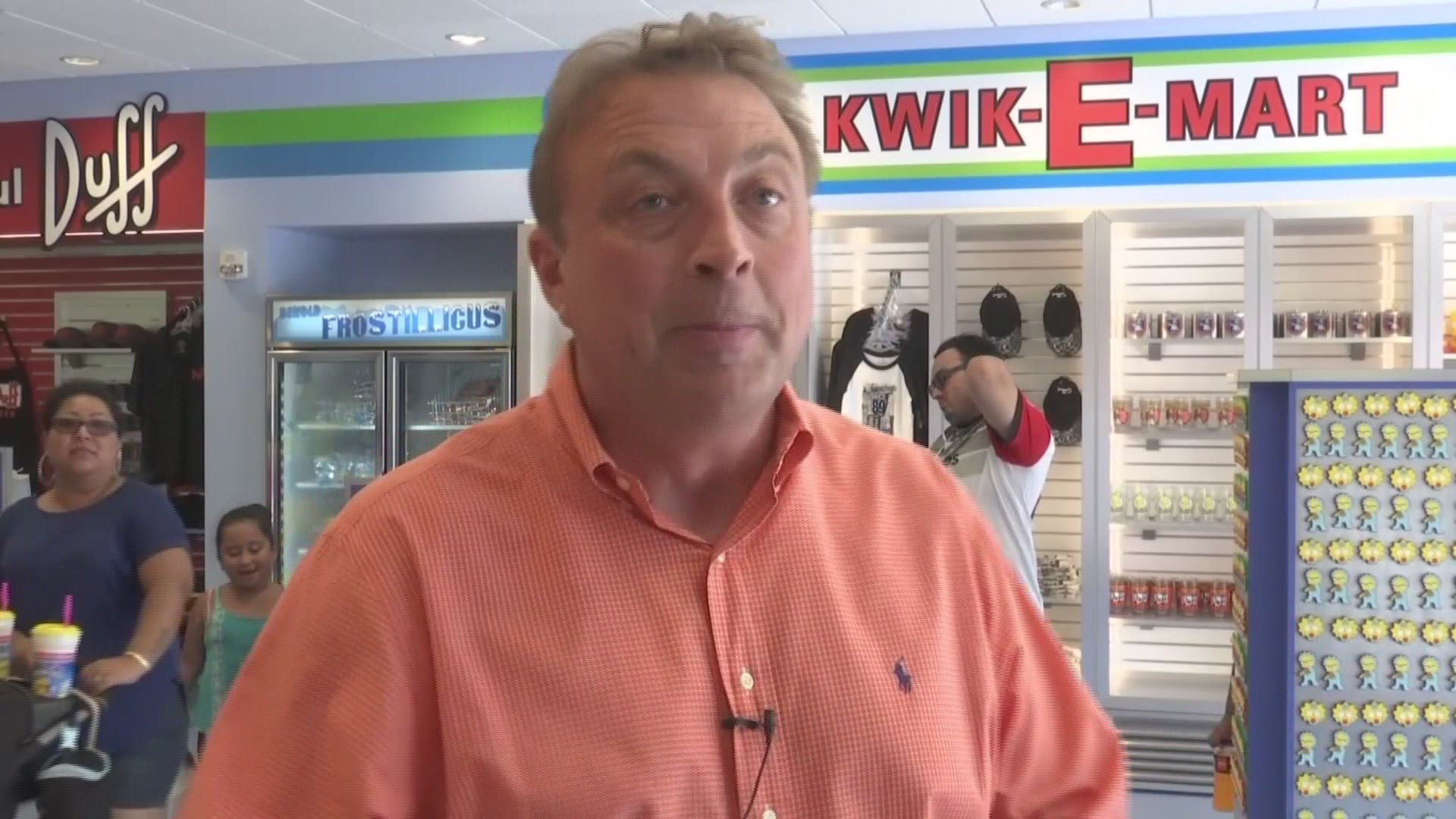 First Kwik E Mart Store From The Simpsons Opens In Myrtle Beach Abc10 Com