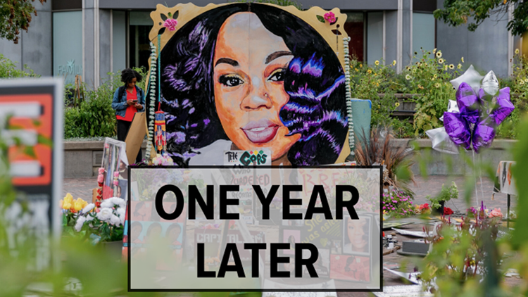One year later: Here's how Breonna Taylor was remembered a year after she was killed by police in Louisville