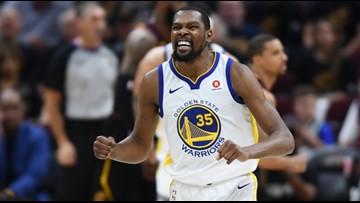 RECAP: Golden State Warriors complete four-game sweep of Cleveland Cavaliers in 2018 NBA Finals