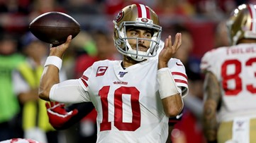 Reaction: Social media abuzz after San Francisco 49ers QB Jimmy Garoppolo calls Erin Andrews 'Baby' in interview
