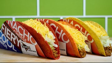 Taco Bell is removing 9 items from its menu in September