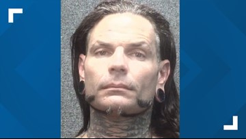 Wrestling superstar Jeff Hardy arrested in South Carolina