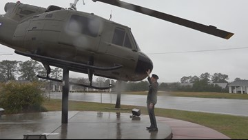 Vietnam veteran reunites with helicopter more than 50 years later