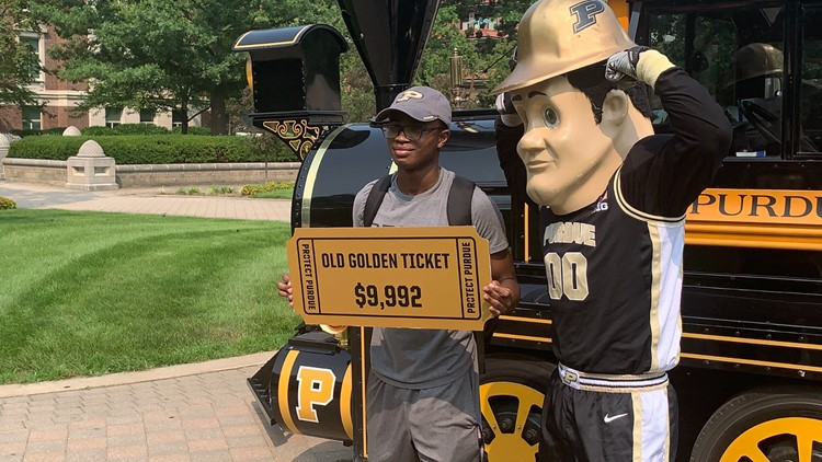 Purdue student wins equivalent of a year's tuition after signing up for school's vaccine drawing