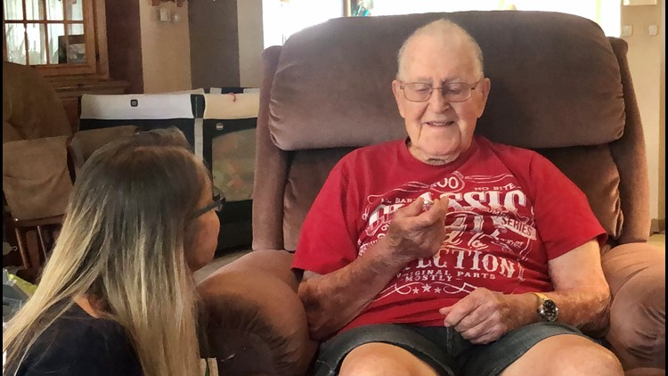 Wedding ring missing for 5 years found, given back to owner on his 100th birthday