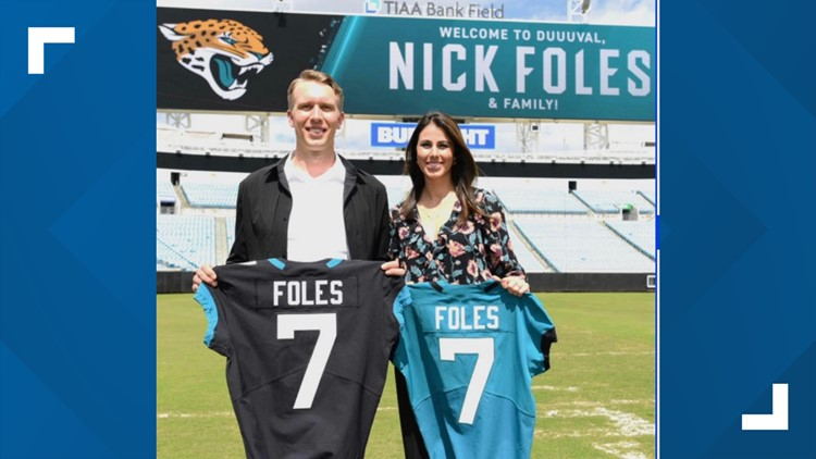 Nick and Tori Foles
