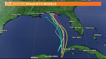 Subtropical Storm Alberto expected to drench Florida this weekend