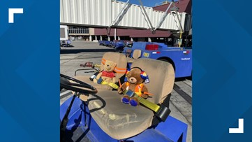Southwest Airlines helps girl reunite with lost teddy bear