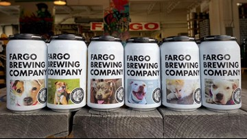 Craft brewery puts rescue dogs on beer labels to find them forever homes