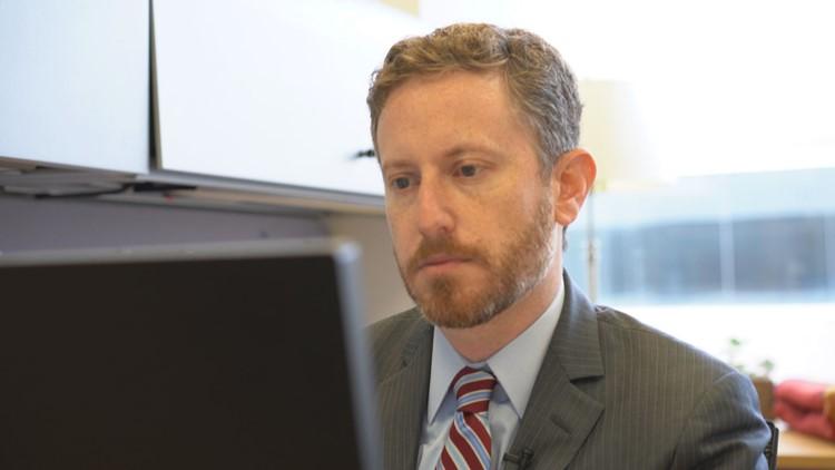Jeff Dubner at desk