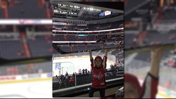 Puck girl was at Game 4 and her reactions were the best