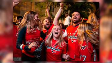 Caps fans across DMV celebrate historic Stanley Cup win