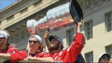 Relive the Caps Victory Parade and Rally: From the air, to the crowds and on the busses