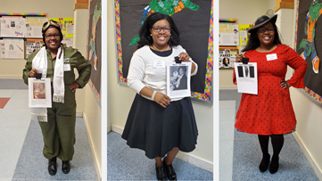 Virginia teacher celebrates Black History Month by bringing history to life