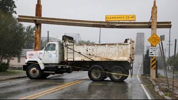 Hurricane Barry makes landfall near Morgan City