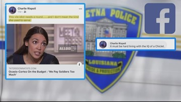 Two Louisiana police officers fired after Facebook post suggests Rep. Ocasio-Cortez should be shot