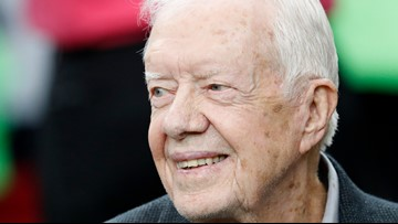 President Jimmy Carter released from the hospital following infection