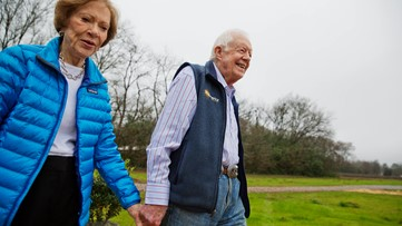 Jimmy and Rosalynn Carter are now the longest-married presidential couple
