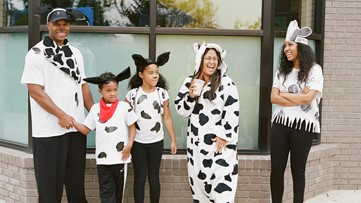 Get free food when you dress up as a cow during Chick-fil-A Cow Appreciation Day