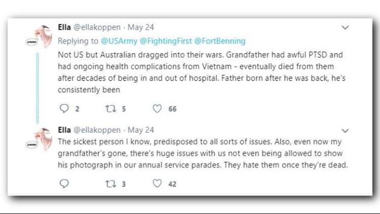US Army twitter reax