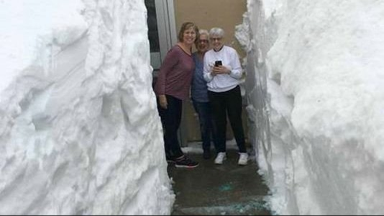 Upper Peninsula City Gets 24.5 Inches Of Snow, Photo Goes
